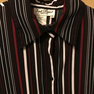 Fred David Tops - FRED DAVID long sleeve very silky button down